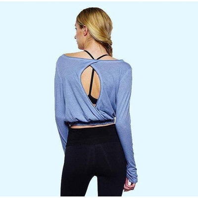 Adeline Long Sleeve Crop-long-sleeve-Dusk-XS-long-sleeve-Indira Active