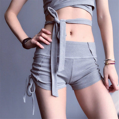 Cajsa-shorts-Grey-S-shorts-Indira Active