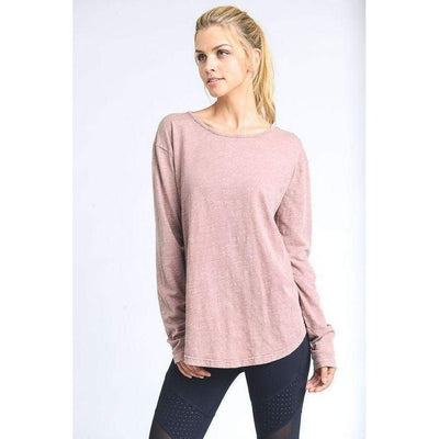 Gypsy-long-sleeve-Dusty Rose-S-long-sleeve-Indira Active