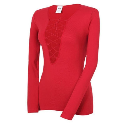Hennie-long-sleeve-Red-S-long-sleeve-Indira Active