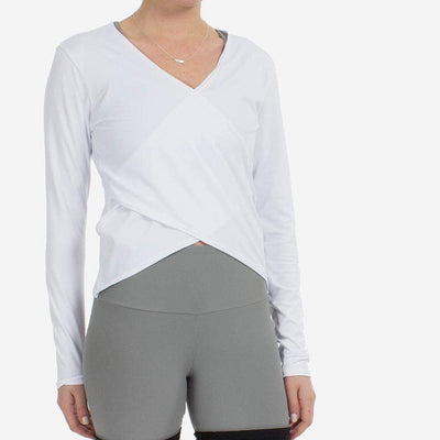 That'S A Wrap-long-sleeve-White-xs-long-sleeve-Indira Active