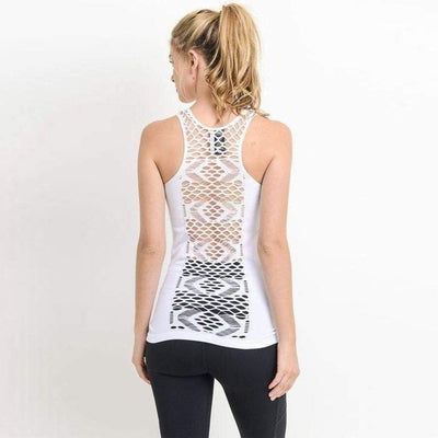 Willow-tank-White-S/M-tank-Indira Active