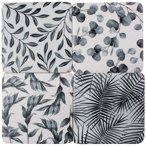 Coasters Resin - Leaves (set of 4)
