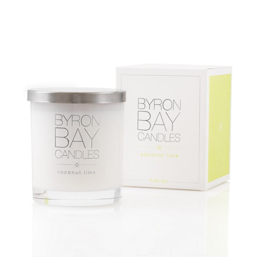 Byron Bay Soy Candle - Coconut Lime - Bamlife