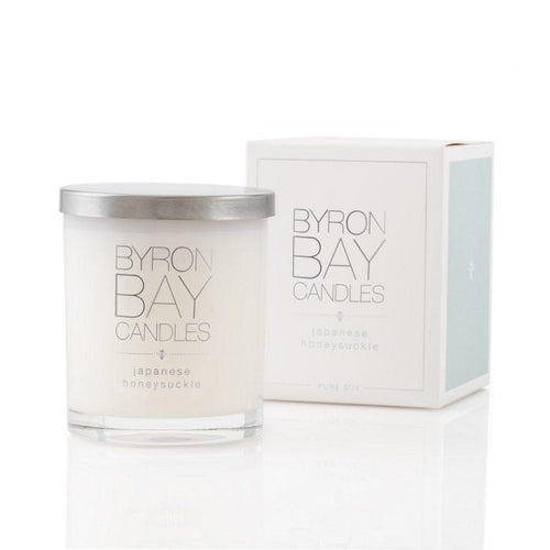 Byron Bay Soy Candle - Japanese Honeysuckle - Bamlife