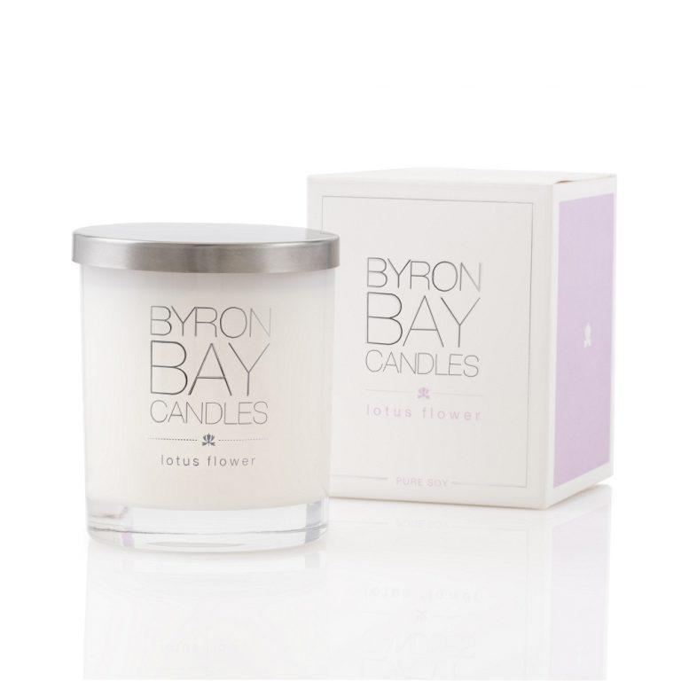 Byron Bay Soy Candle - Lotus Flower - Bamlife