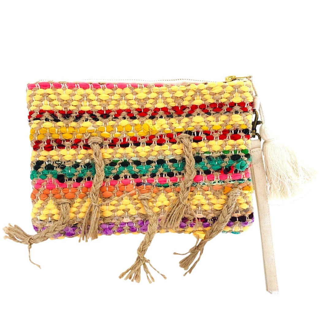 Clutch Bag Boho - Bright - Bamlife