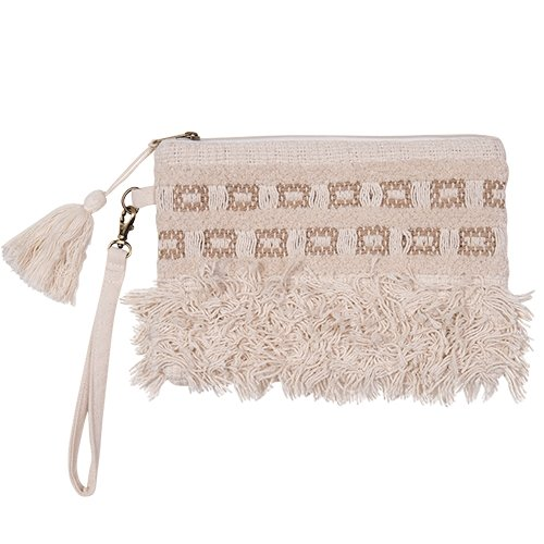 Clutch Bag Boho - Sand - Bamlife