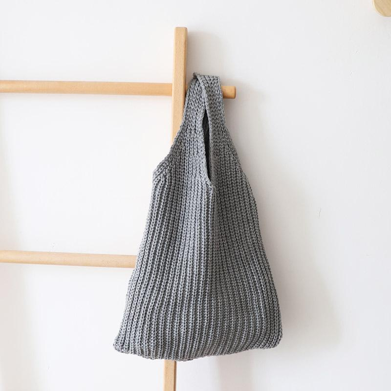 Tote Bag Knitted Cotton - Bamlife