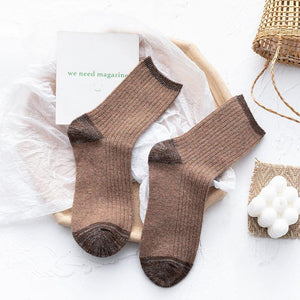 Glitter Soft Stylish Wool Blend Socks
