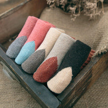 Load image into Gallery viewer, 5 Pair Patched Wool Warm Comfy Socks - Fall/Winter