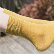 Load image into Gallery viewer, Love Embroidery Comfortable Warm Crew Socks - Fall/Winter