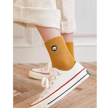 Load image into Gallery viewer, Puppy Mismatch Embroidery Comfy Warm Crew Socks