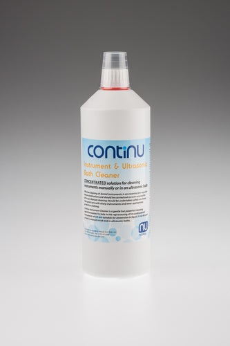 CONTINU Dental Instrument Cleaner 1L – Case of 6 Bottles (£12.65 per bottle)