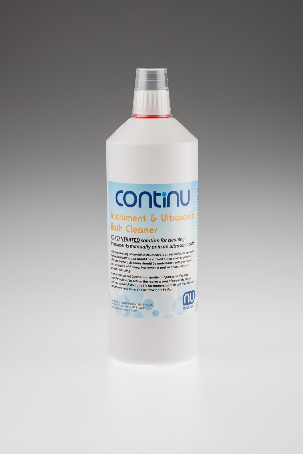 1 Litre ultra sonic Cleaner Concentrate