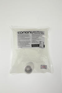 CONTINU Anti-Microbial Hand Sanitising Soap 1 Litre Pouch Box 6 (£8.08 each )
