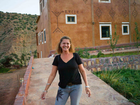 Sophie Wizmann of Ourika Soap in Morocco