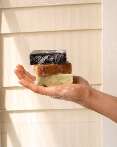 3 Ourika Soaps In a Hand