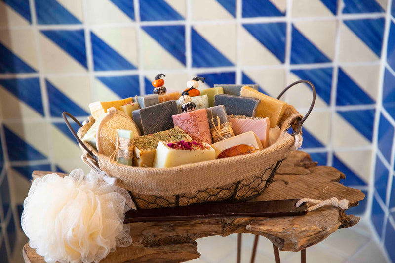 The ultimate Moroccan Soap gift basket Idea