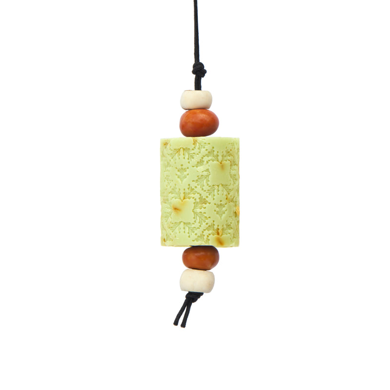 Bergamot The Citrus Oriental Soap on a Rope. The Marrakech hanging Jewel. Moroccan resin beads