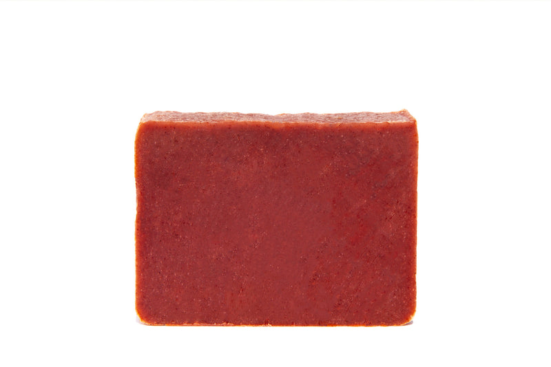 Organic Madder Root Casablanca Soap Bar. Exfoliating and handcrafted in Los Angeles