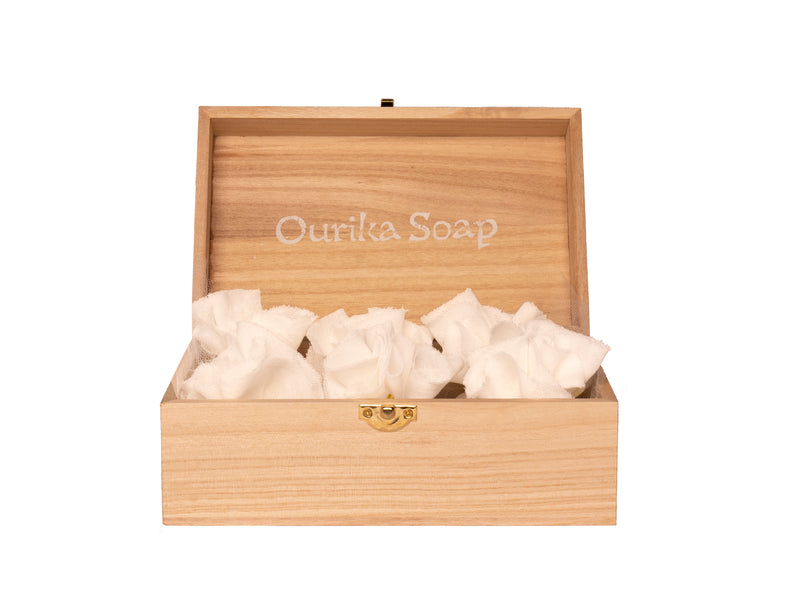 Box of 6 Bath Salts Ourika Soap