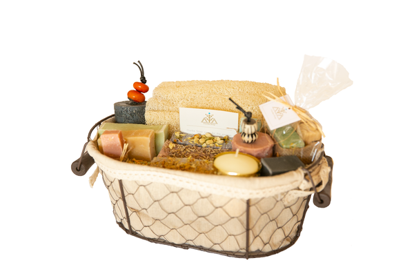 The ultimate Moroccan Soap gift basket