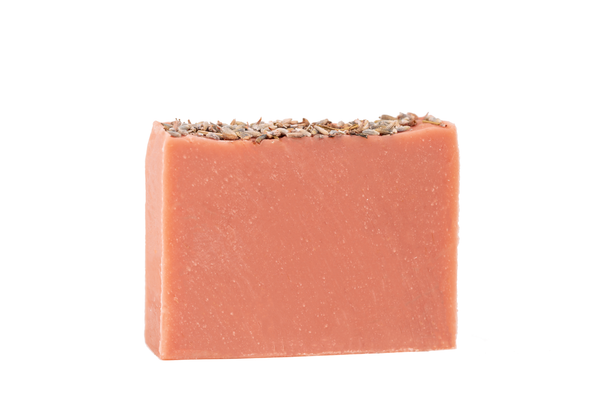 Wild Geranium Organic Casablanca  Soap Bar. Exfoliating Handcrafted Moroccan Soap.