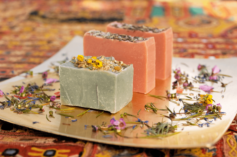 Eucalyptus and Wild Geranium Casablanca  Soap Moroccan ingredients
