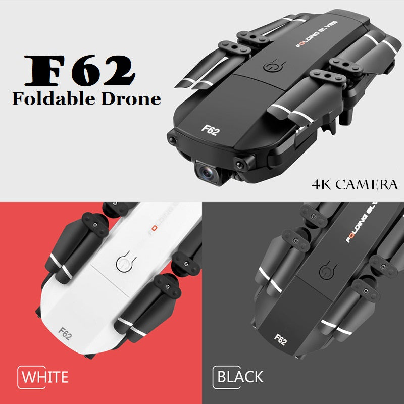 F62 Foldable Drone With 4K HD Camera And Voice Control