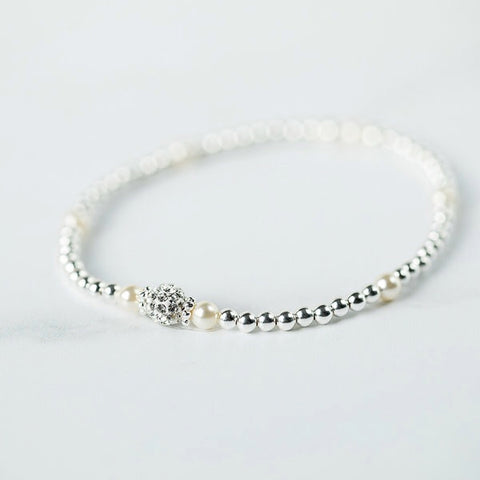 Tiffany Pearl Bracelet (June Birthstone)
