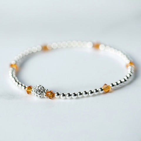 Tiffany TOPAZ Bracelet (November Birthstone)