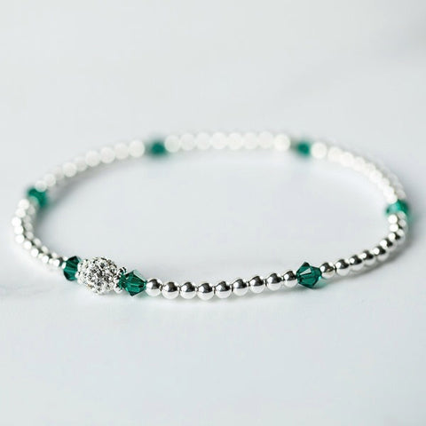 Tiffany Emerald Bracelet (May Birthstone)