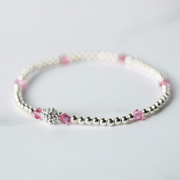 Tiffany Rose Bracelet (October Birthstone)