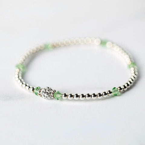 Tiffany Peridot Bracelet (August Birthstone)