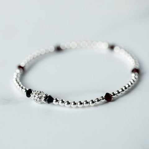 Tiffany Garnet Bracelet (January Birthstone)