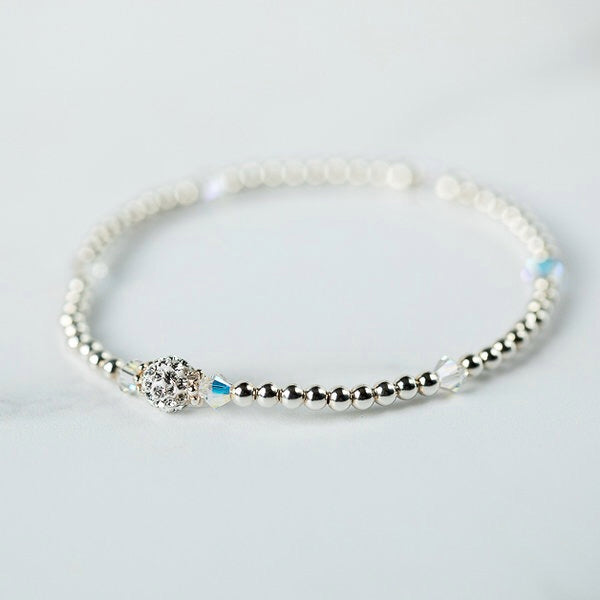 Tiffany Crystal AB Bracelet (April Birthstone)