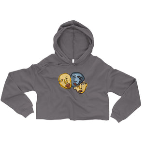 Odd Ball Cropped Hoodie