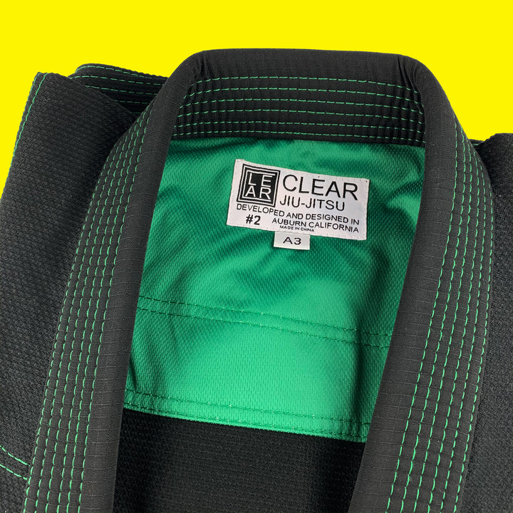 Clear Jiu Jitsu Gi Black