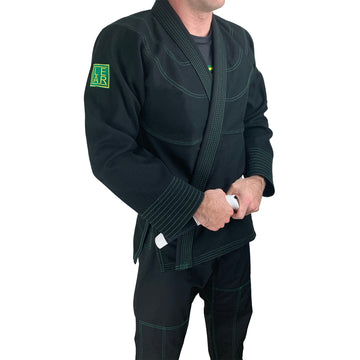 Clear Standard BJJ Gi Black
