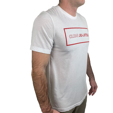 Clear Jiu Jitsu T-Shirt White