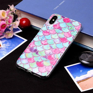 Watercolor Mermaid - Cute Phone Cases