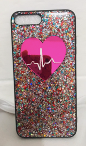 Glitter Heart - Cute Phone Cases