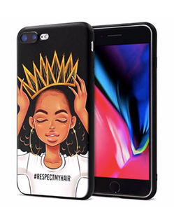 Respect My Hair - Cute Phone Cases