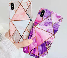 Load image into Gallery viewer, Marble Trouble - Cute Phone Cases