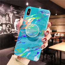 Load image into Gallery viewer, Marble Explosion W/Holder - Cute Phone Cases