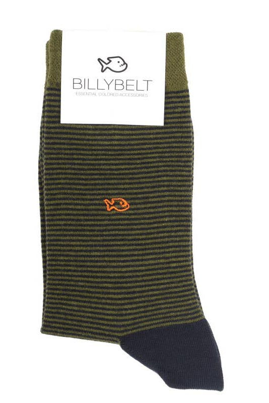khaki striped | unisex socks