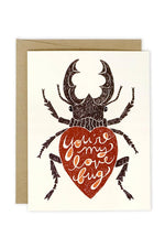 'Love Bug' Notecard - ramble-and-company.myshopify.com - Accessories