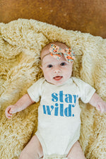 stay wild in heather | onesie
