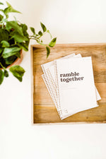 Ramble Together Book | Volume 1.